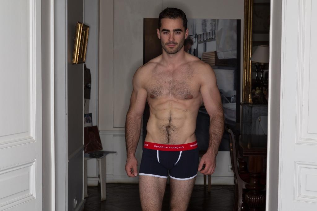 Boxer long - Garçon Français