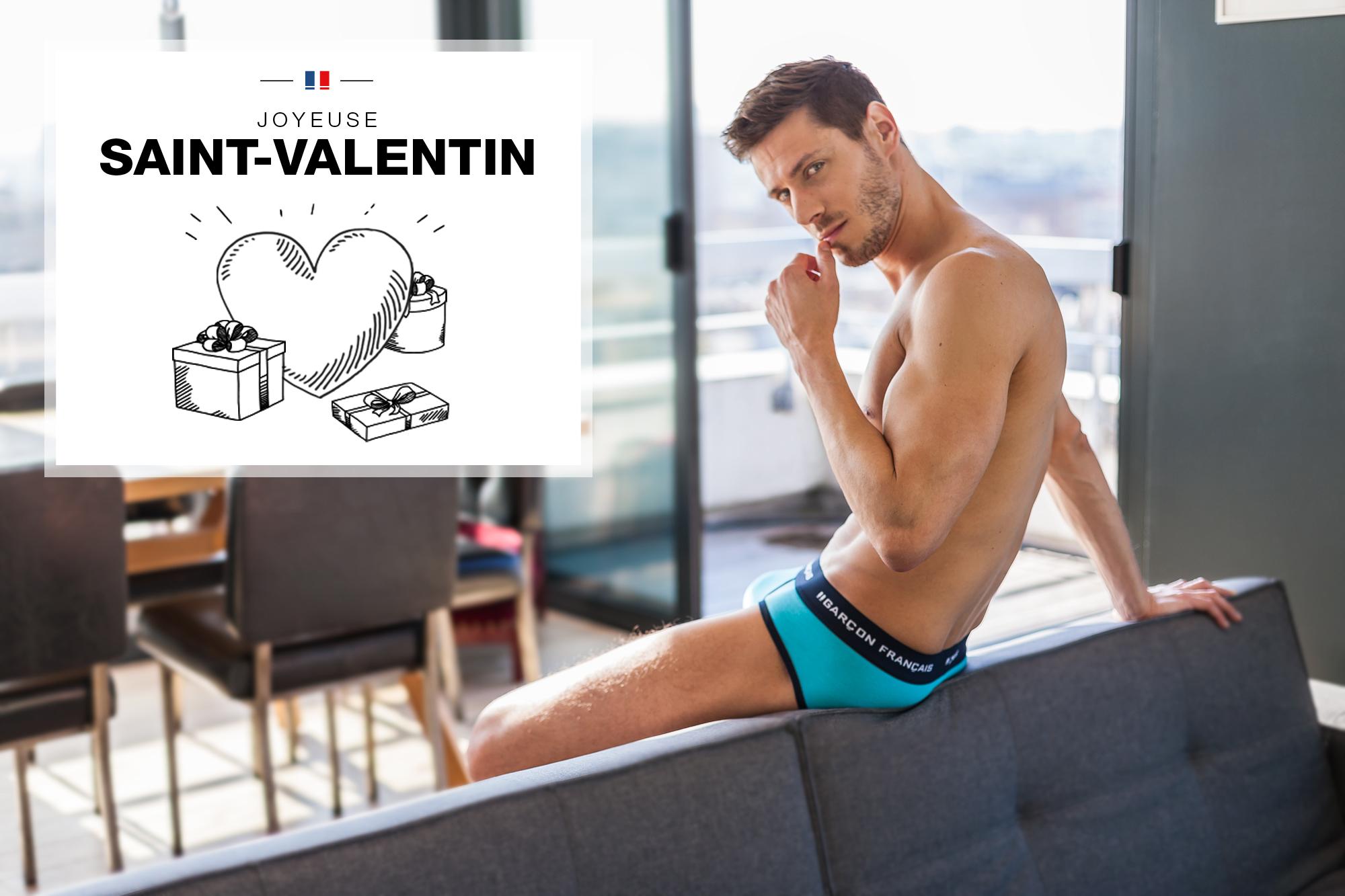 boxer turquoise garçon français