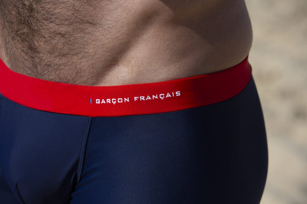 Garçon Français boxer de bain
