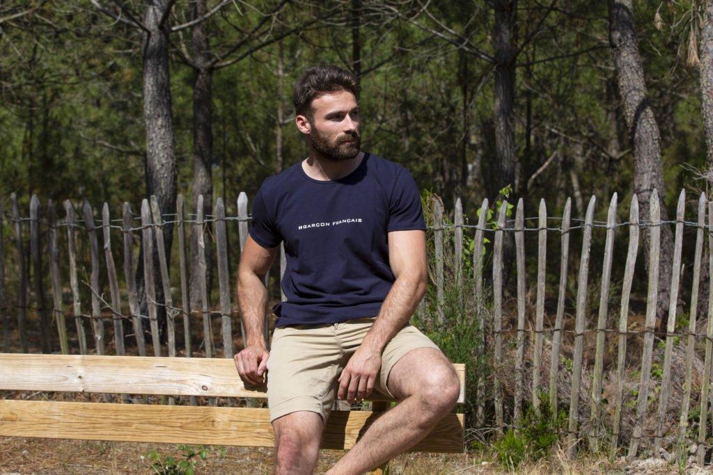 t-shirt homme fabriqué en France