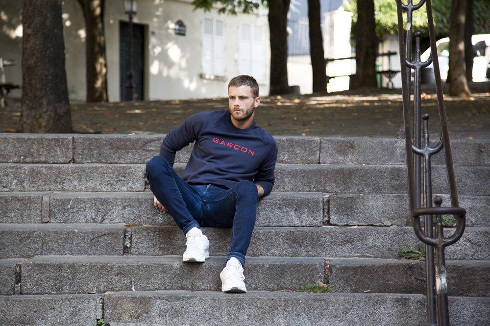 Sweat-shirt Garçon Français
